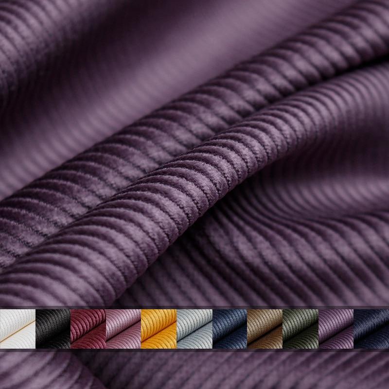 Зимняя Вельветовая куртка из 100% хлопка, 8 цветов, с перламутровыми полосками