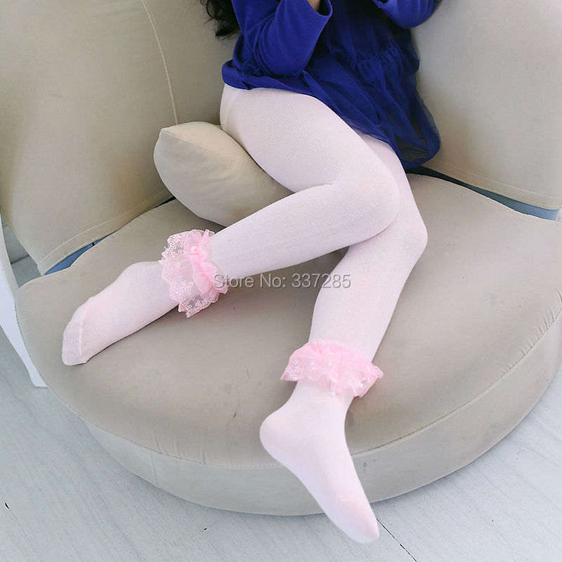 New cute girls lovely  leggings pants for baby child wormer cotton - Children's Clothing - Photo 1