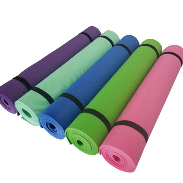 Yoga Mats online Thin 4 mm Soft Non-slip Folding GYM Exercise Fitness Mat