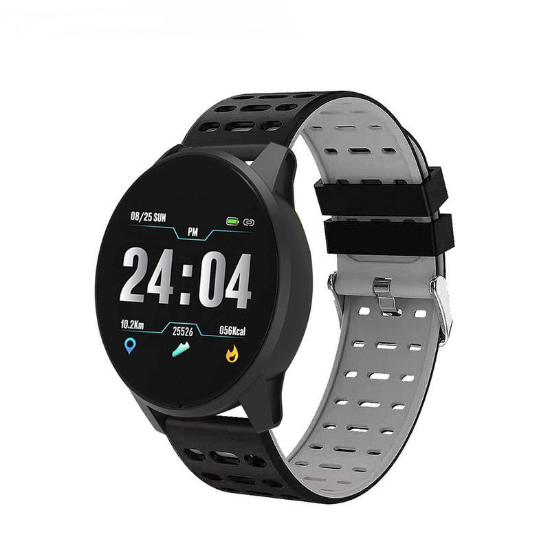 GIAUSA Smart Bracelet Heart Rate Blood Pressure Monitoring Wristband Remote take photo Waterproof watch