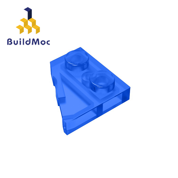 BuildMOC Compatible Assembles Particles 24299 2x2 (Left) For Building Blocks Parts DIY LOGO Educational Gift Toys