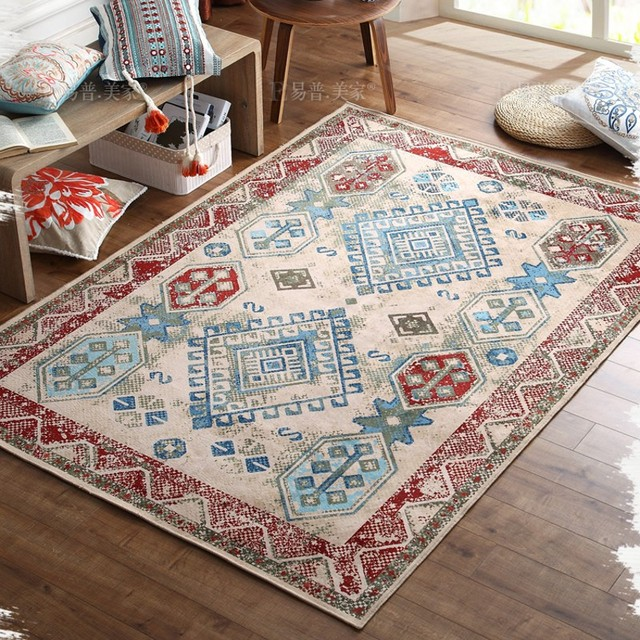 Gemischt Teppich, Amerikanischen Stil Große Größe 200*290 Cm Wohnzimmer  Teppich, Couchtisch Teppich