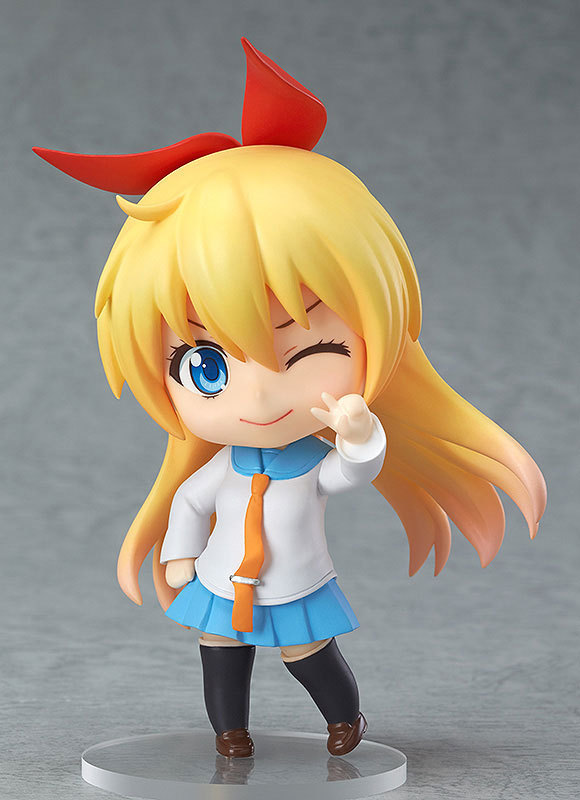 10CM Japanese anime figure Nendoroid 421 Nisekoi Chitoge Kirisaki PVC Action Figure Cute Anime Girl Model Toys GC068 1