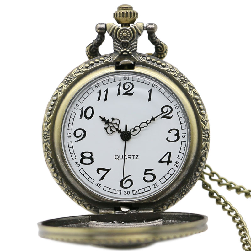 Steampunk skull one piece pocket watch anime crazy store for Cartoon watches
