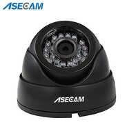 Asecam Home Super 4MP HD cámara de seguridad CCTV Mini domo blanco AHD Sistema de Vigilancia IR visión nocturna envío gratis