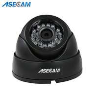 Asecam Home Super 4MP HD Security Camera CCTV White Mini Dome AHD Surveillance System IR Night Vision Free shipping