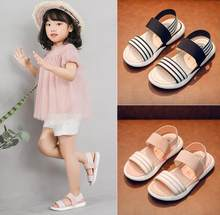 Girls Boys Brands Summer Sandals Children Soft Sole Beach Sandals Anti-slip Cozy Cute Kids Sport Shoes Kids Sneakers(China)