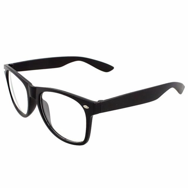 f8a1eaeda3 Trendy Unisex Men Women Eyewear Frames Clear Lens Glasses Square Frame 9  Colors