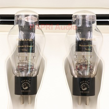 1Pair  New Arrival PSVANE WE300B PLUS VACUUM TUBE Treasure Tube Matched Pair Western Electric 1:1 Replica Tested