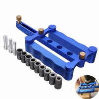 3 In 1 Woodworking Jig Dowel 6 8 10mm Drilling Tools Dowel Hole Drilling Guide Locator