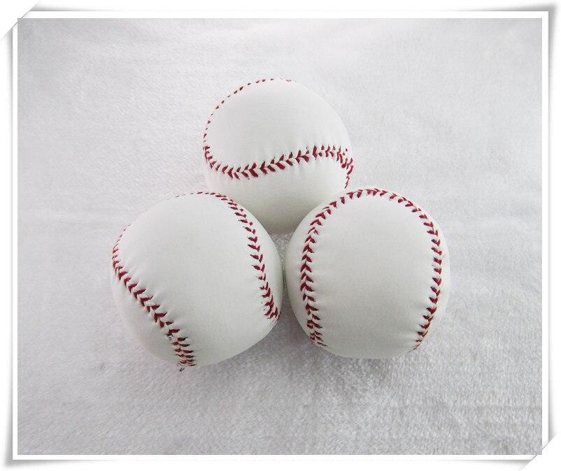 Цельнокроеное платье Стандартный белый Trainning Упражнение мягкой Бейсбол Софтбол мяч для Sport Team игры Практика Развлечения