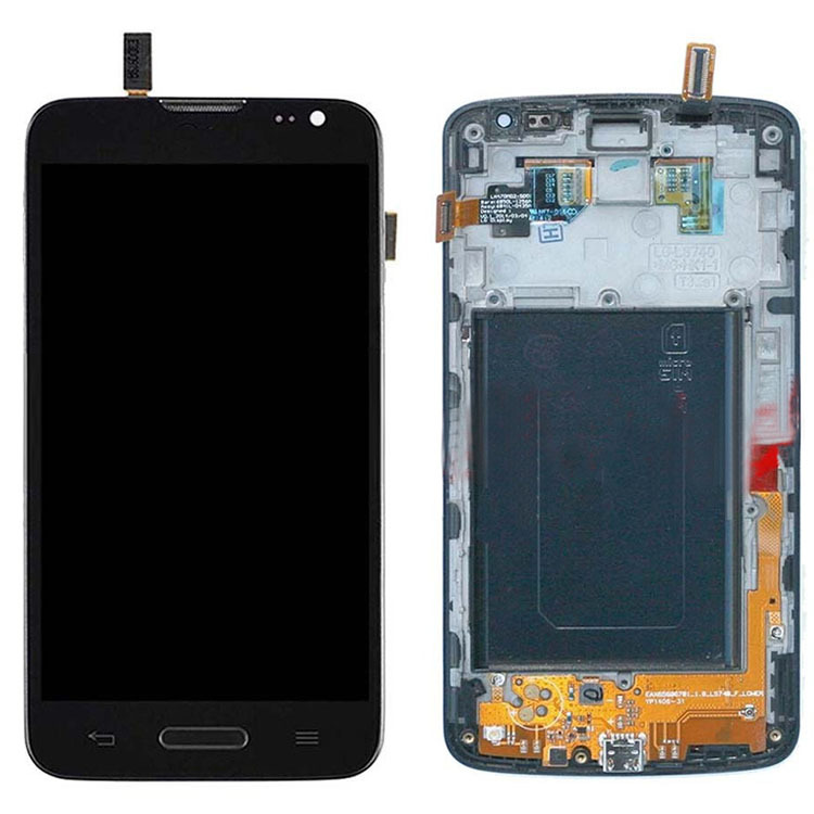 ФОТО Black Repair Part Replacement for LG Volt LS740 Touch Screen Digitizer Glass Panel LCD Display Assembly+Frame