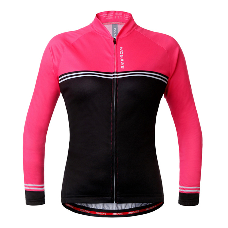 Cycling-Jersey Long-Sleeve Ropa-Ciclismo Sports Women's Autumn Spring YES 100%Polyester