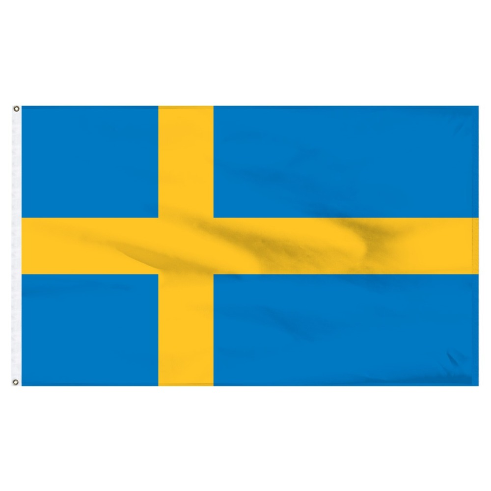 johnin 90*150cm se Konungariket Sverige sweden Flag For Decoration image