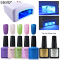 Elite99 7.3ml Gel Nail Long Lasting Gel Nail Polish Pick 5 Colors UV Gel Polish And Top Base Coat Manicure Tools 36W Nail Dryer