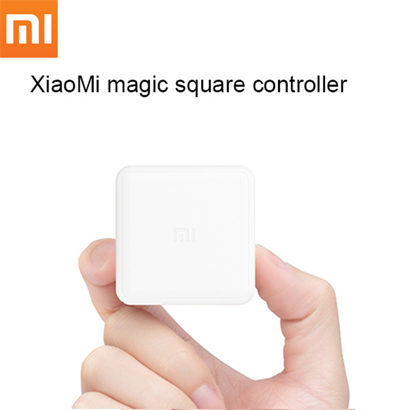 Original Xiaomi Mi Magic Controller Zigbee Version Controlled by Six Actions work with mijia mi home app Xiaomi Cubes Controller цены онлайн