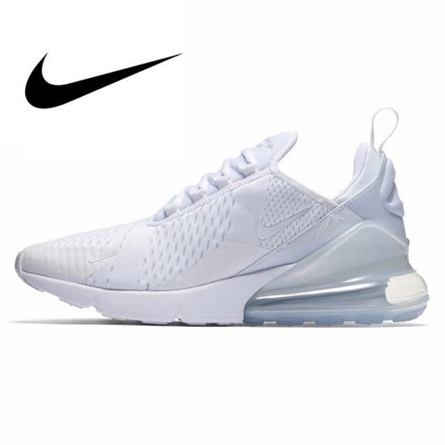 Original NIKE Air Max 270 Women Running Shoes Jogging Sports Durable  Breathable Comfortable Lace Up Cushioning Sneakers AH6789-in Running Shoes  from Sports ... ff51c15c1