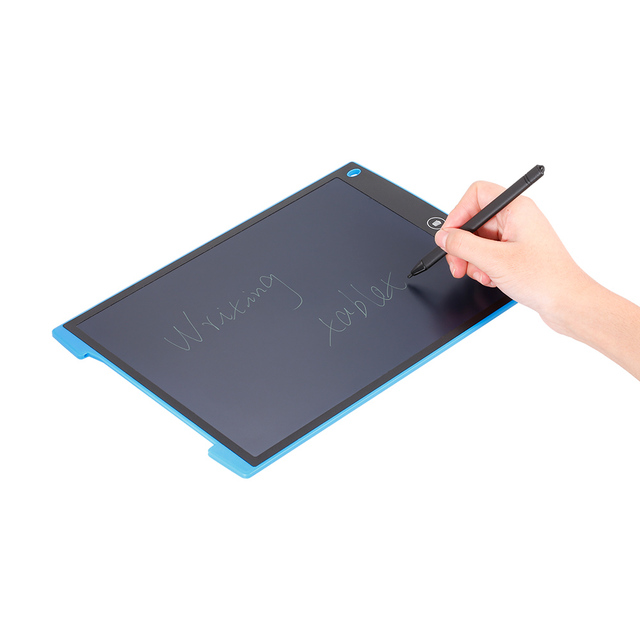 US $23 3 46% OFF|12 Inch LCD Writing Tablet Paperless Digital Drawing  Tablet Handwriting Pads Portable Electronic Board for Kids Christmas  Gifts-in