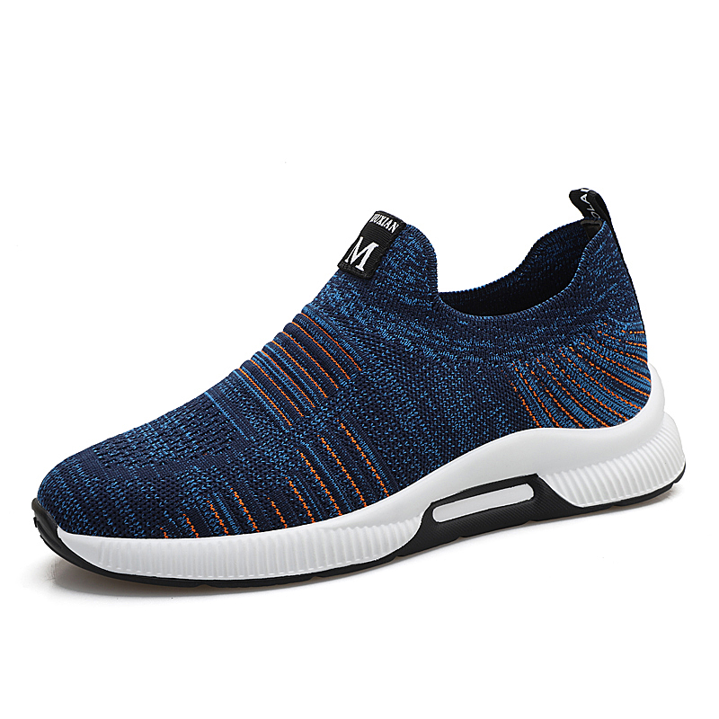 Fotwear Men Slip on sneakers casual shoes increase 6cm height cushioned supportive comfort midsole Comfort Flexible rubber