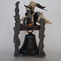 Assassin's Creed Action Figures Edward Altair The Legendary Assassin Bell Tower 280mm Anime Game Collectible Model Toy