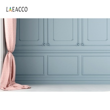 Laeacco Chic Wall Curtain Birthday Party Wedding Baby Portrait Interior Photo Backgrounds Photography Studio