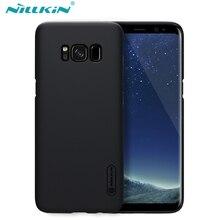 Для Samsung Galaxy S8 S8 плюс Чехол Nillkin Super Frosted Shield жесткий матовая задняя крышка с бесплатной защита экрана