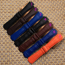 Free shipping 24mm High Quality Genuine Leather Watch Bands Strap Watch Men Accessories For Tissot T60