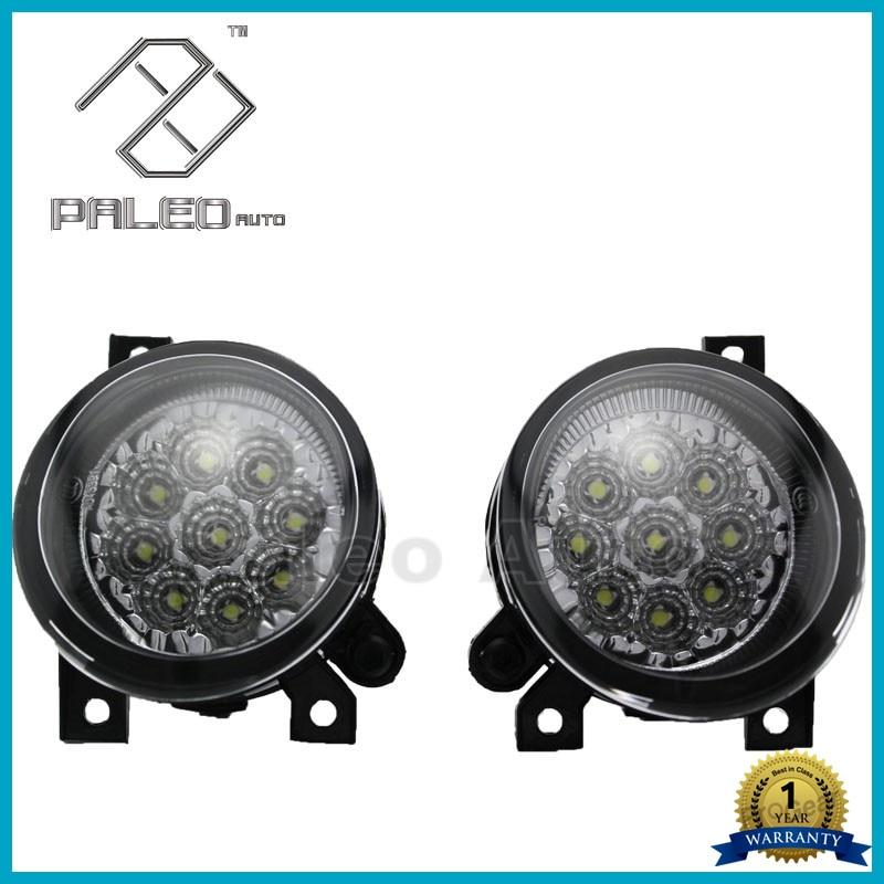 ФОТО 2pcs Free Shipping For VW Jetta 5 MK5 2006 2007 2008 2009 2010 2011 New High Quality DRL 9 LED Fog Lamp Fog Light Car Styling