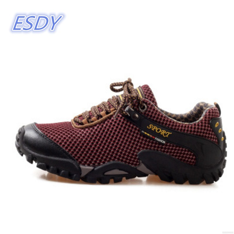 2017 Brand men Anti-skid Off-road Jogging Walking Trainers Outdoor Sport Shoes men Sneakers men shoes Running Shoes size 38-44