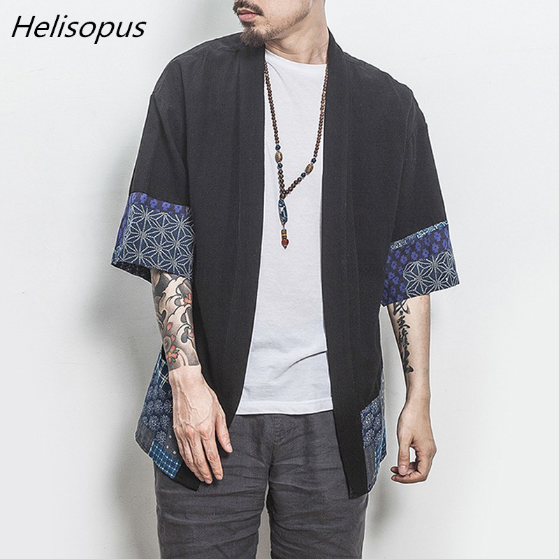 Jackets & Coats Men's Clothing Precise Men Cotton Linen Casual Long Trench Jacket Cloak Chinese Style Cardigan Jacket Male Loose Kimono Outerwear