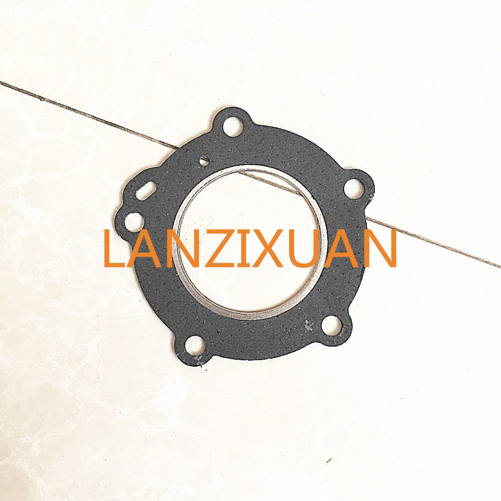 Free shipping Hangkai 2 stroke 6.0HP <font><b>outboard</b></font> <font><b>motor</b></font> boat <font><b>motor</b></font> ships hang paper cylinder head cover gasket image