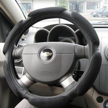 Sport car Steering Wheel Cover Mesh Material Breathability Car  Cover Automobile personality