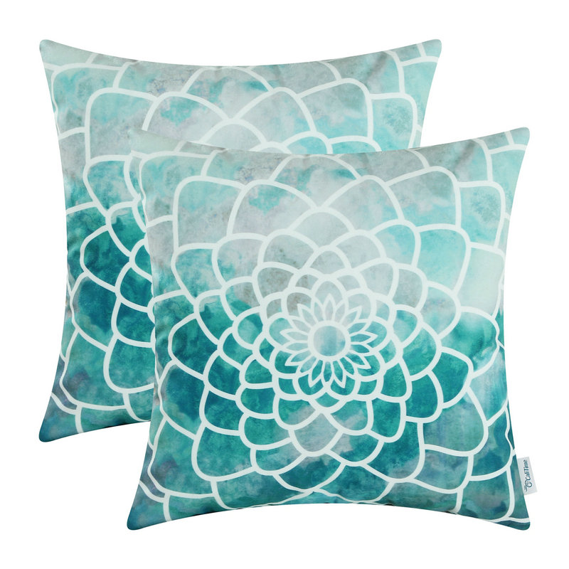 Decorative Teal Pillows PromotionShop for Promotional Decorative