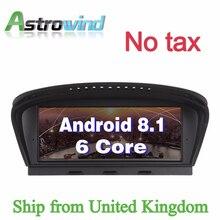 8,8 дюйма 2G Оперативная память Android 8,1 dvd-плеер автомобиля gps навигации Системы Media стерео для BMW 3 серии E90 для BMW 5 серии E60 CIC