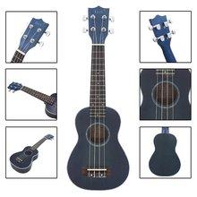 IRIN 21″ Ukelele Ukulele Spruce Body Rosewood Fretboard 4 Strings Stringed Instrument Blue
