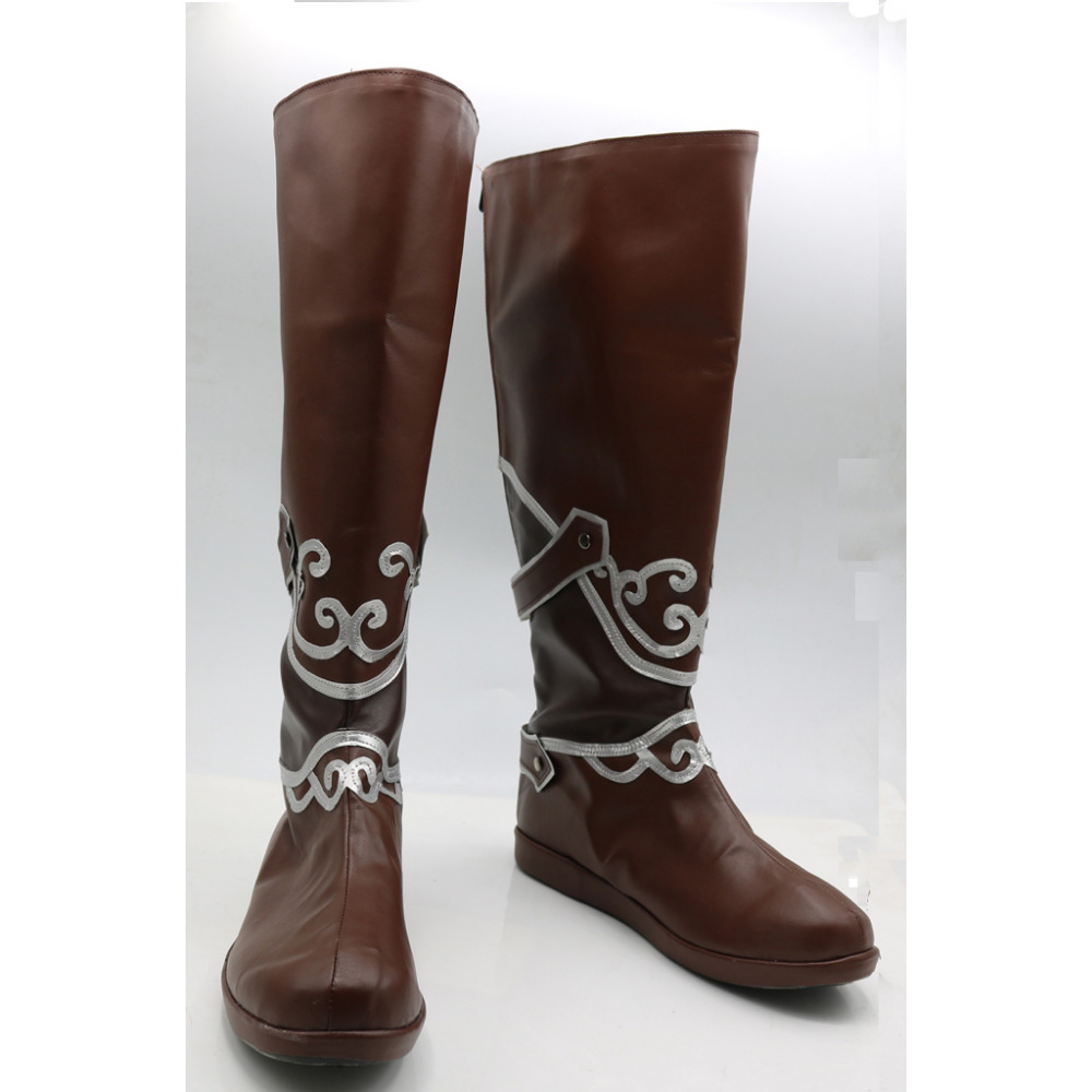 popular mens knee high leather boots buy cheap mens