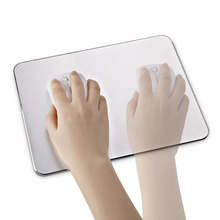 New Luxury Aluminum Metal Slim Large Game Mouse Pad PC Computer Laptop Gaming Mousepad for Apple MackBook dota 2 lol CS GO
