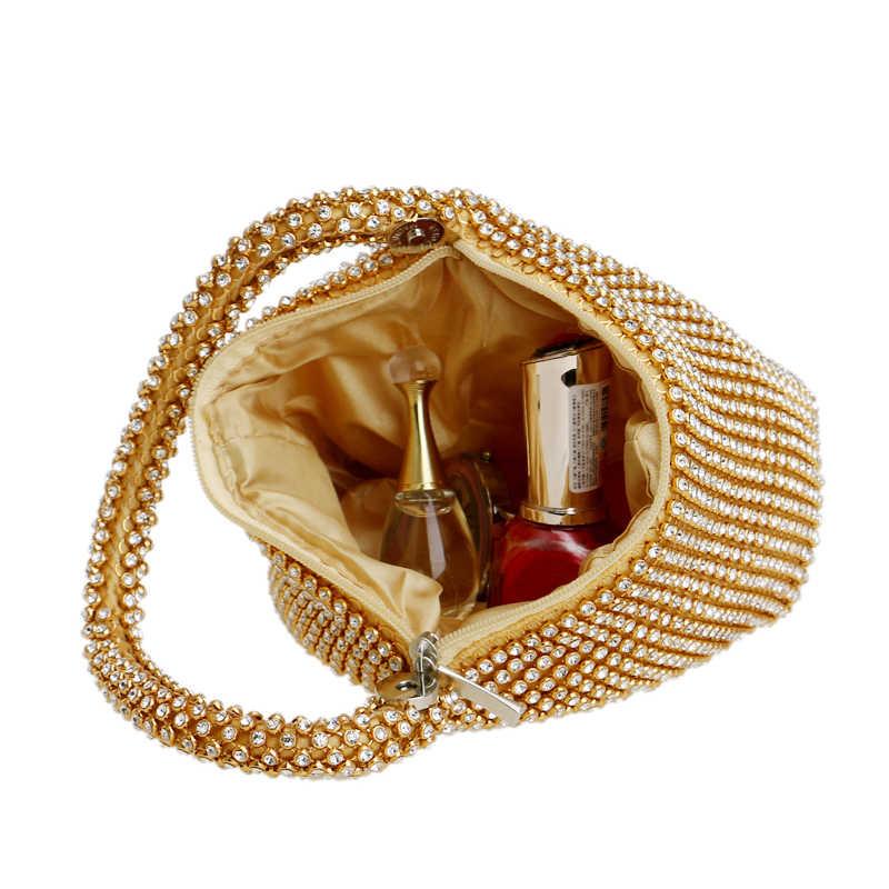 Sekusa Zachte Kralen Vrouwen Avond Tassen Cover Open Stijl Lady Wedding Bridalmaid Handtassen Purse Bag Voor Nieuwjaar Gift Clutch