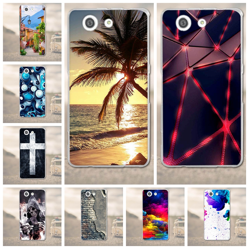 Luxury <font><b>Case</b></font> for <font><b>Sony</b></font> <font><b>Xperia</b></font> <font><b>Z3</b></font> Compact Mini D5803 D5833 <font><b>Phone</b></font> <font><b>Cases</b></font> TPU Soft Back Cover Cartoon Silicon Mobile <font><b>Phone</b></font> <font><b>Case</b></font> image