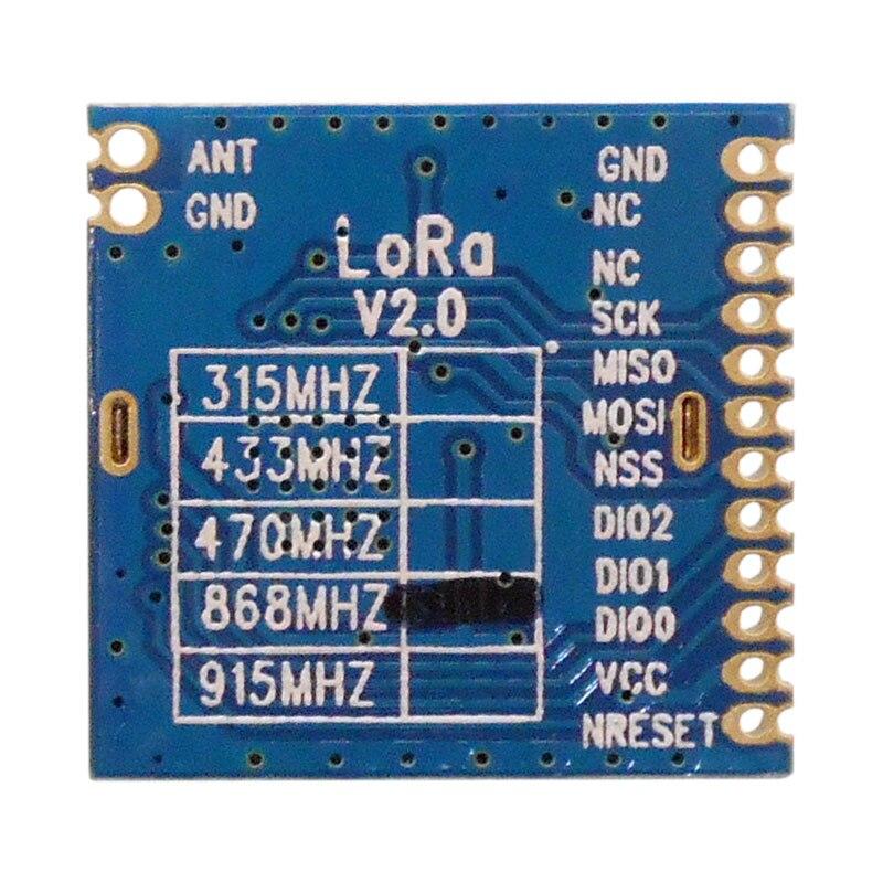 Image 4 - 2pcs/lot FCC certified 868MHz  915MHz 100mW sx1276 chip long range 4Km RF Wireless LoRa Module LoRa1276module classmodule powermodule wlan - AliExpress