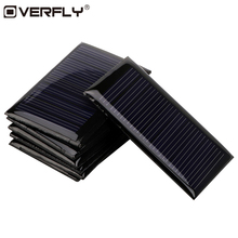Overfly Mini Solar Panel 5V 0.15W Solar Power Panel Solar System DIY For Battery Cell Phone Chargers Portable Solar Panel