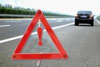 Placa De Aviso De Perigo de Paragem Do Veículo Traseira do carro Estacionamento Segurança Triângulo Aviso Tripé De Emergência Reflexiva Da Segurança Da Estrada Sinal Tiras reflexivas     -