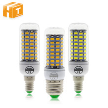 LED Bulb E27 E14 LED Corn Bulb Lamp 220V SMD5730 89LEDs White / Warm White No Flicker LED Light Bulb(China)