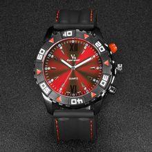 2016 Marca de Fábrica Famosa Gran Dial Relojes Deporte de Los Hombres Del Cuarzo de Japón Relojes Deportivos Analógico Display Reloj de Lujo Montre Homme