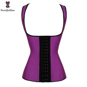 Image 5 - Latex Vest Taille Trainer Staal Bone Babaka Waisttrainer Plus Size Taille Cincher Underbust Push Up Vrouwen Dagelijkse Slijtage Taille Trimmer