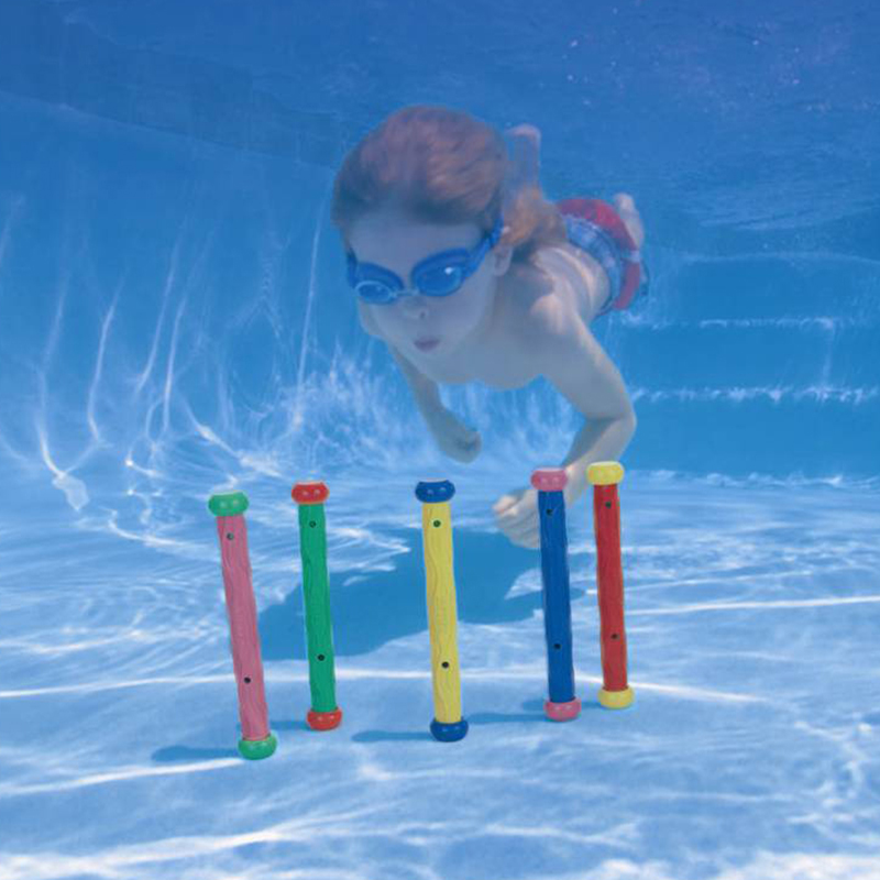 5pcs/set Intex outdoor fun &sport Dive bar swimming toy for child Pool Diving Para Toy