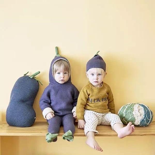 2016 de invierno bebé ropa de bebé ropa de la muchacha NIÑOS de DIBUJOS ANIMADOS suéter kikikids moda de punto outwears navidad del traje de otoño