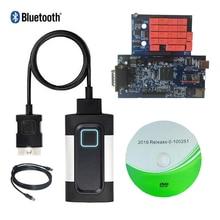 Распродажа! С Bluetooth 2016R0 или 2015. R3 программного обеспечения VD TCS CDP PRO синий V8.0 pcb для autocoms автомобиль грузовик obd2 инструменту диагностики