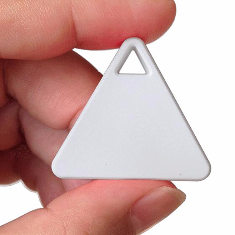 small objects pet triangles anti-lost device, smart Bluetooth 4.0 triangular anti-lost device to find objects