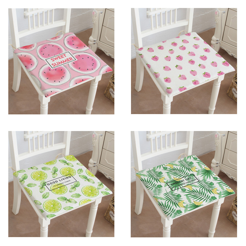 2017 Summer Fruit Forest Seat Cushion Office Chair Cushion